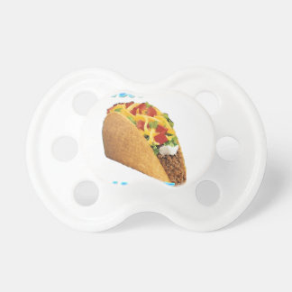 Wanna Taco 'Bout It? Baby Pacifier