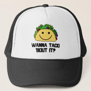 Wanna Taco Bout It  Trucker Hat 0d7a906db5b4