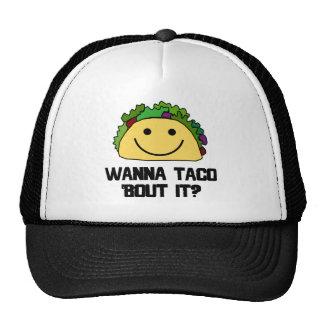 Wanna Taco Bout It? Trucker Hat