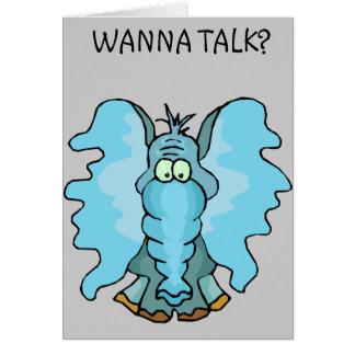 Wanna Talk? Cards