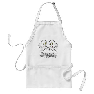 WANNA TOUCH MY BOO-BIES ADULT APRON
