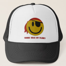 Wanna Walk My Plank Trucker Hat