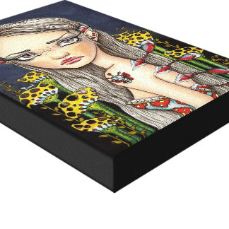Wannabe Butterfly Stretched Canvas Prints