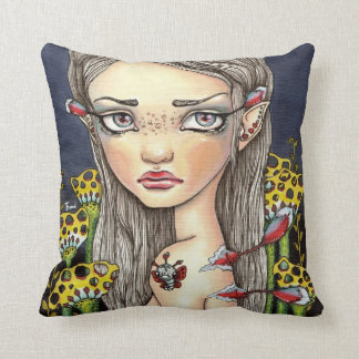 Wannabe Butterfly Throw Pillow