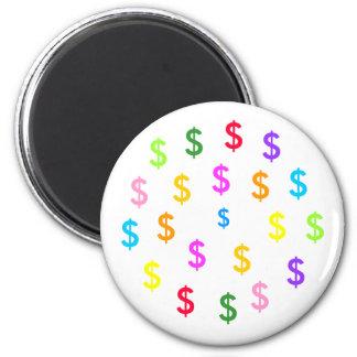 Wannabe Millionaire Dollar ($) Magnet