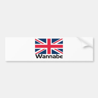 Wannabe - UK Bumper Sticker