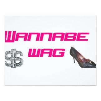Wannabe wag card