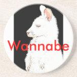Wannabe Wallaby Beverage Coaster
