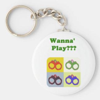 Wannaplay Keychain