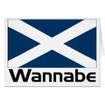 Wannnabe - Scottish Card