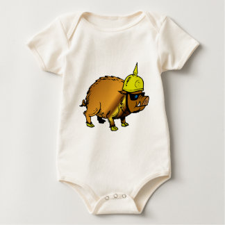 Want a fight? baby bodysuit