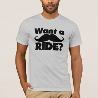 Want a Ride on the Stahce? T-Shirt