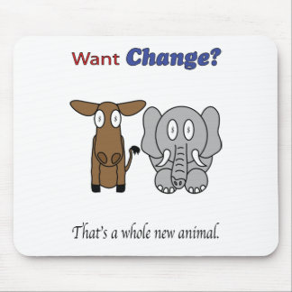 Want Change?  That's a Whole New Animal Mouse Pad