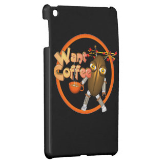 Want Coffee on 100+ products by Valxart com iPad Mini Cover