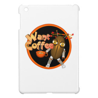 Want Coffee on 100+ products by Valxart com iPad Mini Case