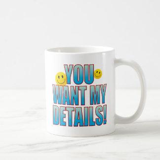 Want Details Life B Coffee Mug