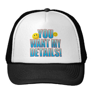 Want Details Life B Trucker Hat