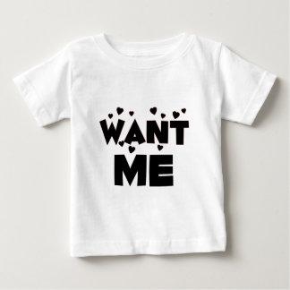 Want Me/Cute Fun Valentine's Day Love Gift T Shirt