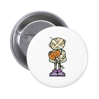 want my mummy cute mummy button