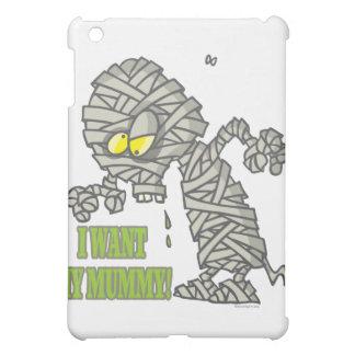 want my mummy silly halloween cartoon iPad mini covers