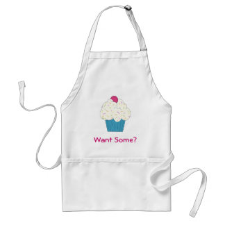 Want Some? Cupcake Apron