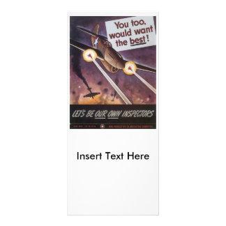 Want The Best World War 2 Rack Card Design