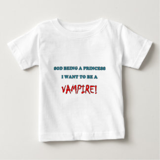 Want to be a Vampire Baby T-Shirt