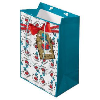 Want to be my Snowbuddy?   Christmas Medium Gift Bag