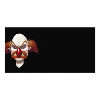 Want To Clown Around? - Designer Photo Card