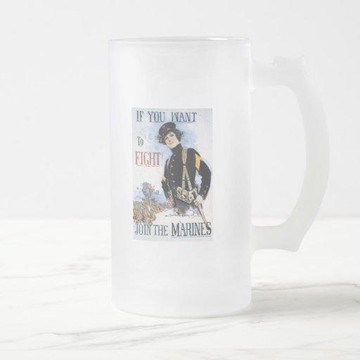 Want To Fight World War 2 Coffee Mugs
