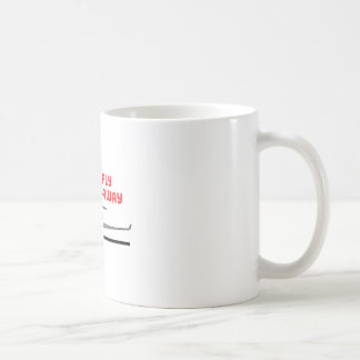 Want To Fly Away Classic White Coffee Mug