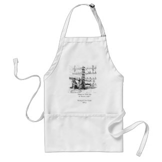 "Want to Give Me A ""Snow Job?"" Adult Apron"