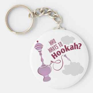 Want To Hookah Keychain