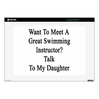 Want To Meet A Great Swimming Instructor Talk To M Decals For Laptops