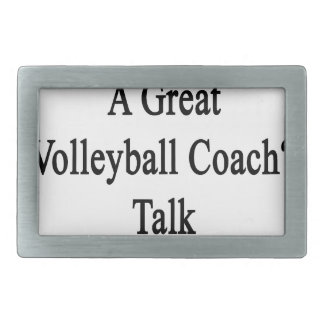Want To Meet A Great Volleyball Coach Talk To My M Rectangular Belt Buckle