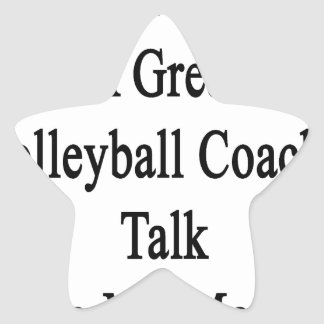 Want To Meet A Great Volleyball Coach Talk To My M Star Sticker