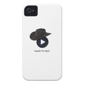 WANT TO PLAY iPhone 4 CASE