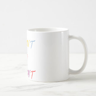 want to want multicoloured coffee mug