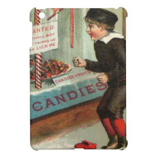 Wanted - A Boy To Lick Christmas Candy Cane iPad Mini Case