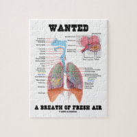 Wanted A Breath Of Fresh Air (Respiratory System) Jigsaw Puzzles