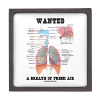 Wanted A Breath Of Fresh Air (Respiratory System) Premium Gift Box
