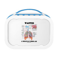 Wanted A Breath Of Fresh Air (Respiratory System) Replacement Plate