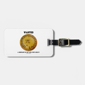Wanted A Constant In My Life Just Like Pi Bag Tag