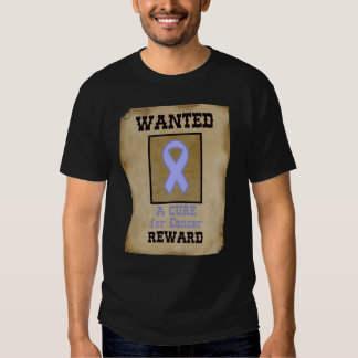Wanted: A Cure for Cancer - Lavender Ribbon Shirt