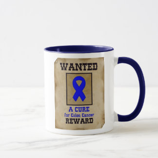 Wanted: A Cure for Colon Cancer Mug