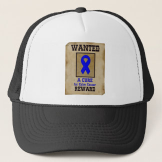 Wanted: A Cure for Colon Cancer Trucker Hat