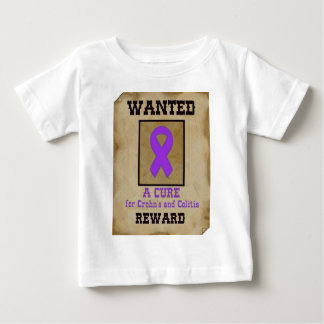Wanted: A Cure for Crohn's & Colitis Baby T-Shirt