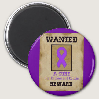 Wanted: A Cure for Crohn's & Colitis Magnet