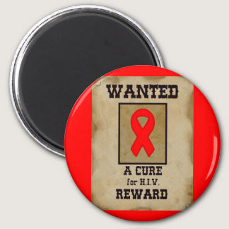 Wanted: A Cure for HIV Magnet