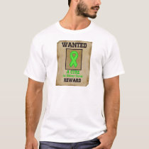 Wanted: A Cure for Kidney Cancer T-Shirt
